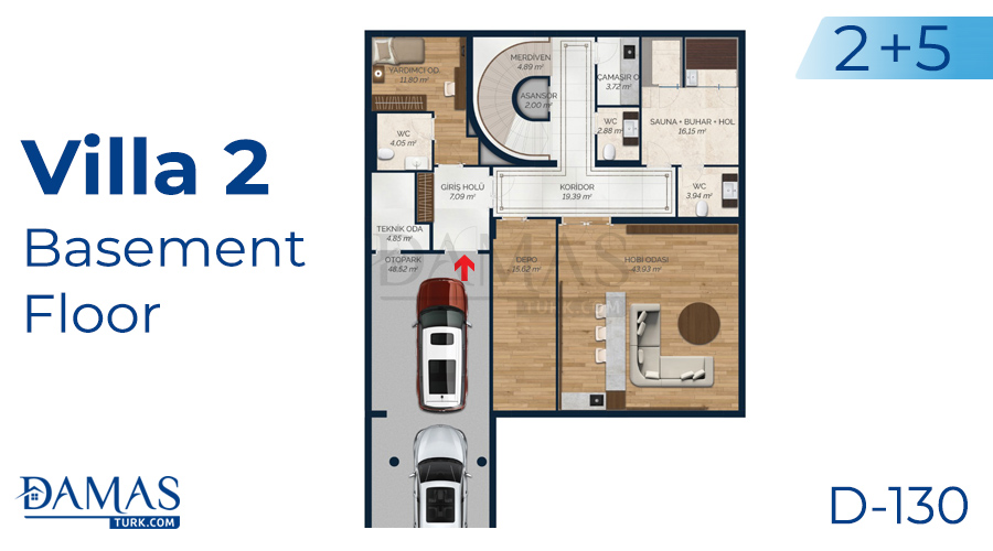 Damas Project D-130 in Istanbul - Floor plan picture 04