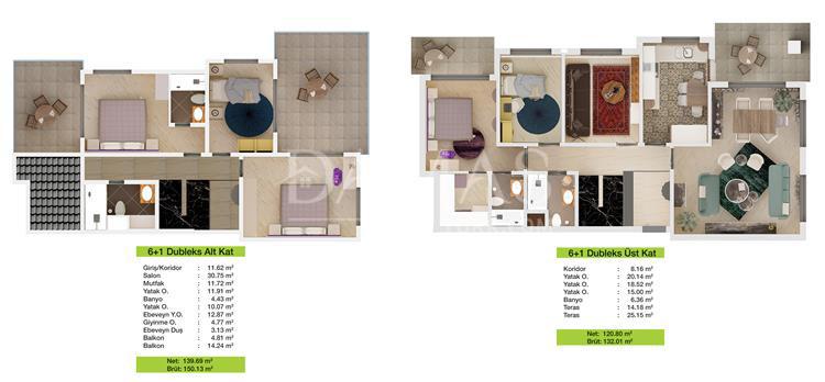 مجمع مجموعة داماس 204 في بورصة - صورة المخطط 04