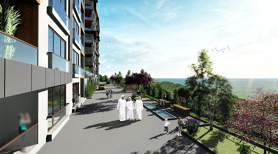 Damas Project D-410 in Trabzon - Exterior picture  04