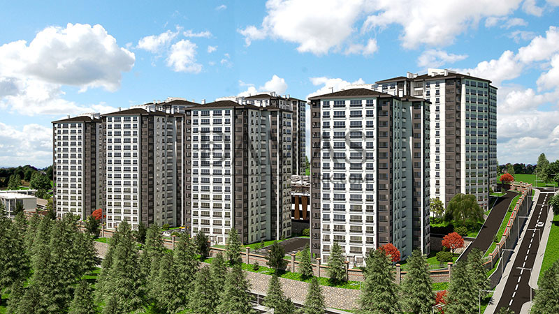 investment Trabzon - Damas 405 Project in Trabzon - exterior picture 04