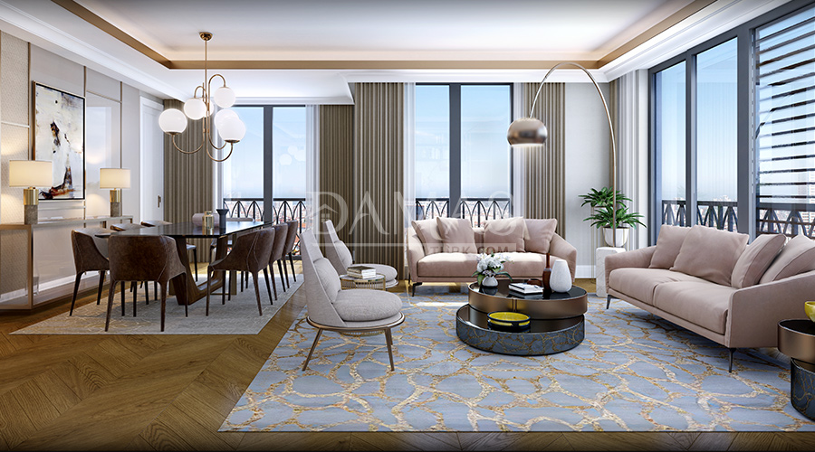 Damas Project D-281 in Istanbul - interior picture 04