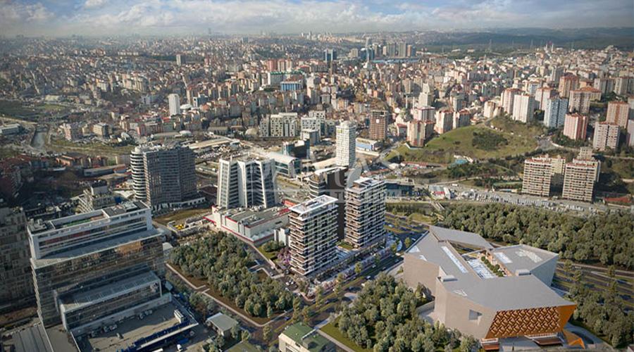 مجمع مجموعة داماس 152 في اسطنبول - صورة خارجية 04