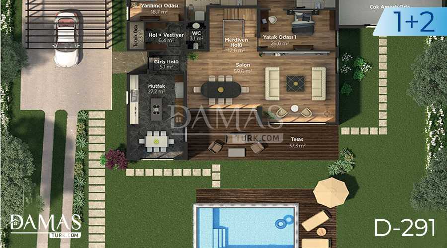 Damas Project D-291 in Istanbul - Floor plan picture 04