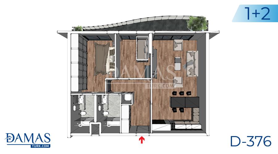 مجمع داماس 376 في يلوا - صورة مخطط 04
