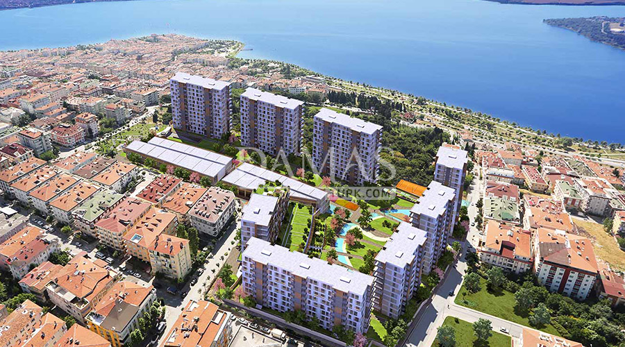 مجمع مجموعة داماس 148 في اسطنبول - صورة خارجية 04
