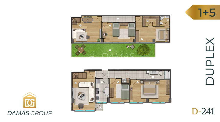 Damas Project D-241 in Istanbul - Floor Plan 05