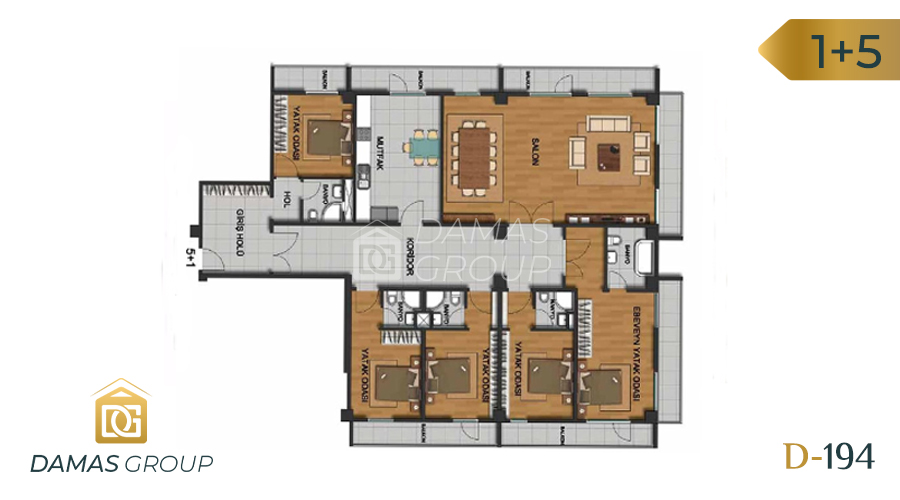 Damas Project D-194 in Istanbul - Floor Plan 05