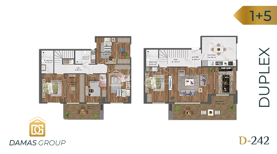 Damas Project D-242 in Istanbul - Floor Plan 05