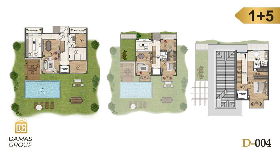 Damas Project D-004 in Istanbul - Floor Plan 04