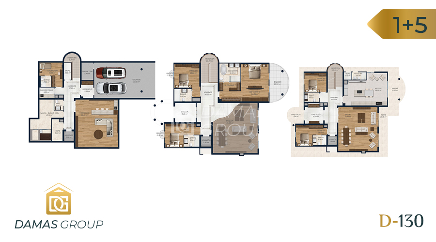 Damas Project D-130 in Istanbul - Floor Plan 02