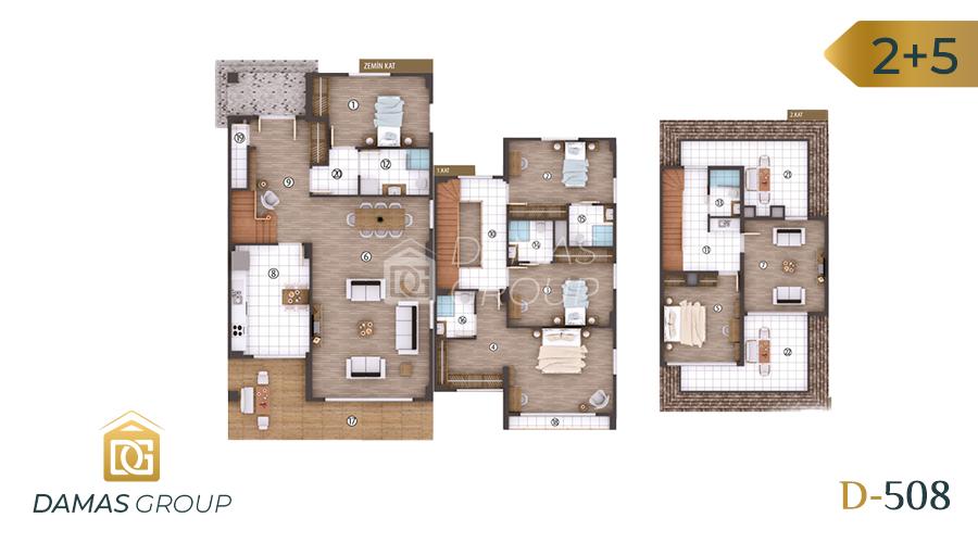 Damas Project D-508 in kocali - Floor Plan 04