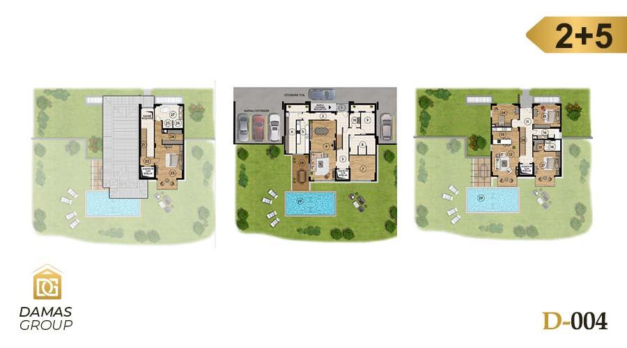 Damas Project D-004 in Istanbul - Floor Plan 05