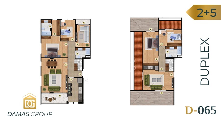 مجمع داماس 065 في اسطنبول  - صورة مخطط 04