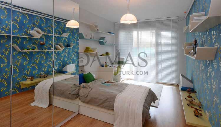 منازل للبيع في بورصة - مجمع مجموعة داماس 206 في بورصة - صورة داخلية 05