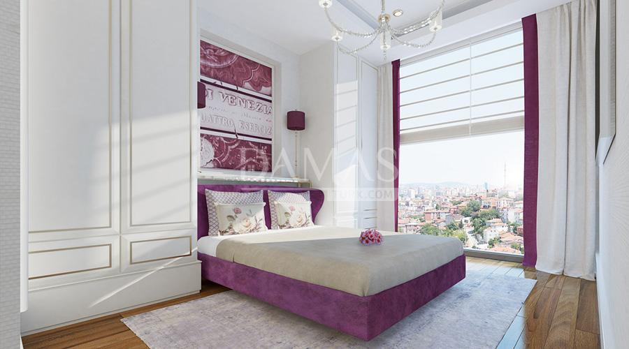 أسعار العقارات في تركيا - مجمع مجموعة داماس 181 في إسطنبول - صورة داخلية 05