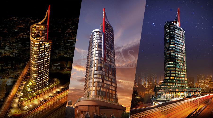 مجمع مجموعة داماس 124 في اسطنبول - صورة خارجية 05