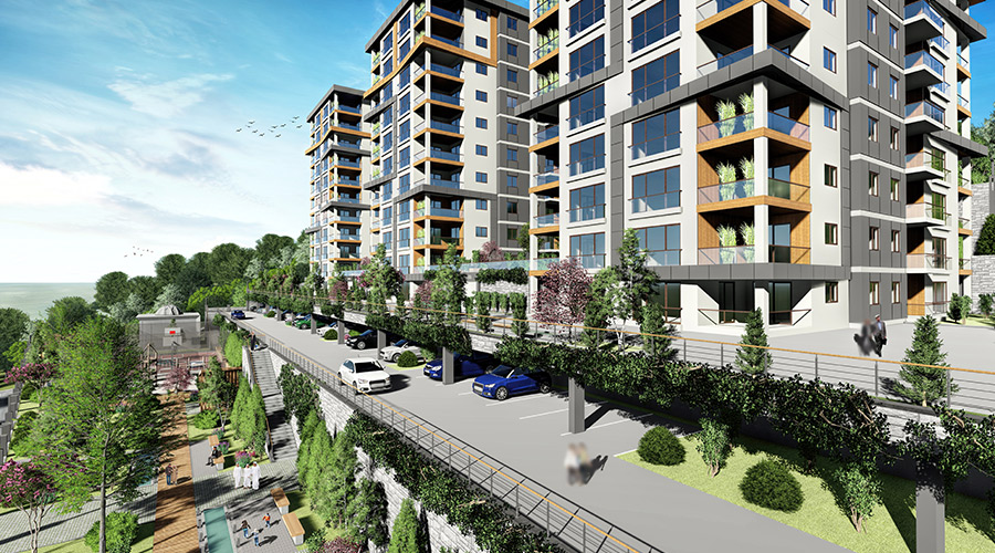 Damas Project D-410 in Trabzon - Exterior picture  05