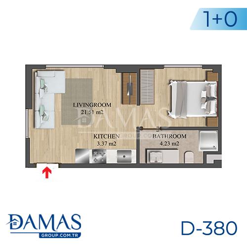 مجمع داماس 380 في اسطنبول - صورة مخطط 05