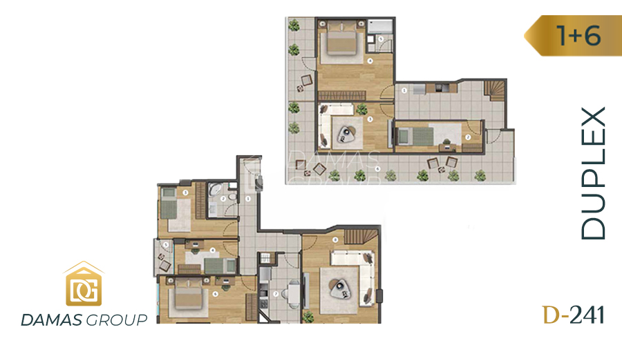 Damas Project D-241 in Istanbul - Floor Plan 06