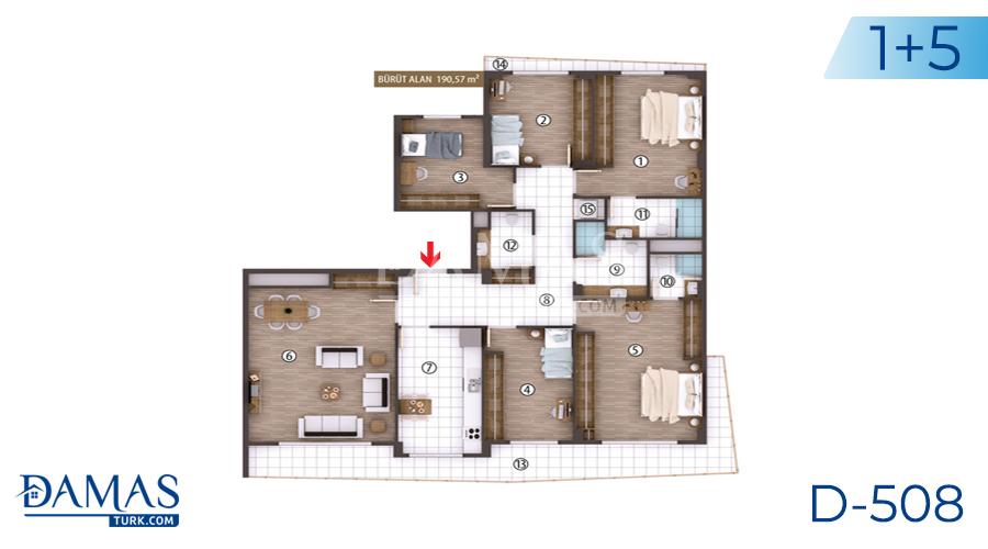 مجمع مجموعة داماس 508 في كوجالي - صورة مخطط 06