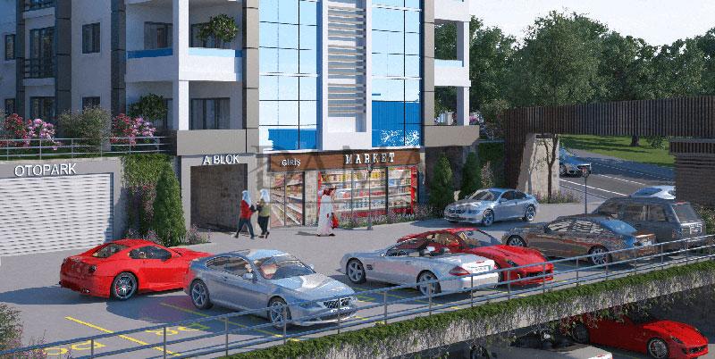 عقارات للبيع في طرابزون - مجمع مجموعة داماس 403 في طرابزون - صورة خارجية 06