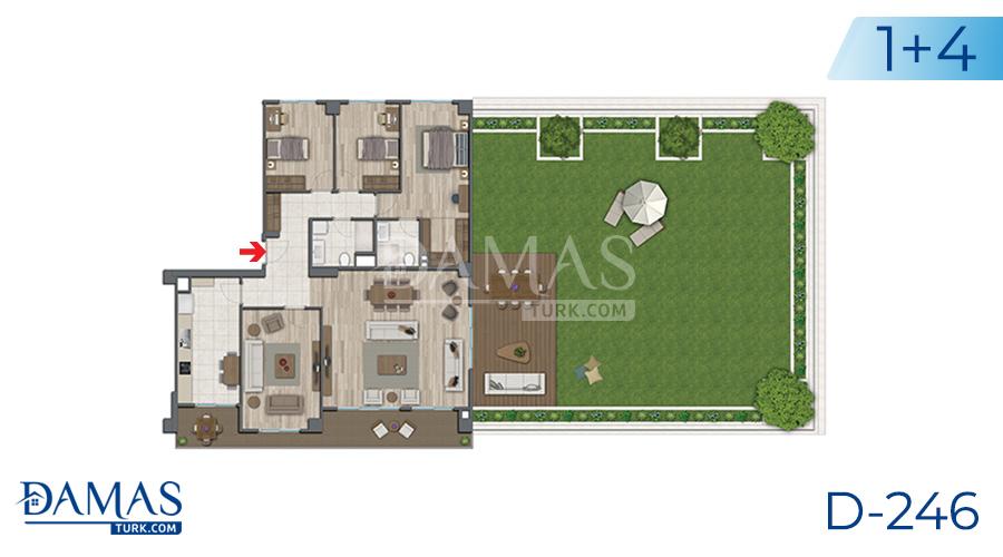 مجمع مجموعة داماس 246 في اسطنبول - صورة مخطط 06
