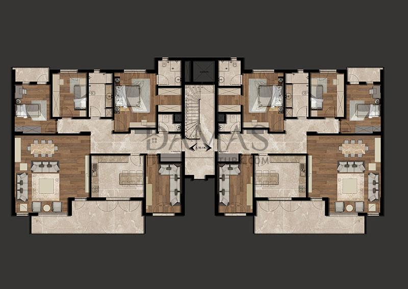 مجمع مجموعة داماس 205 في بورصة - صورة المخطط 06