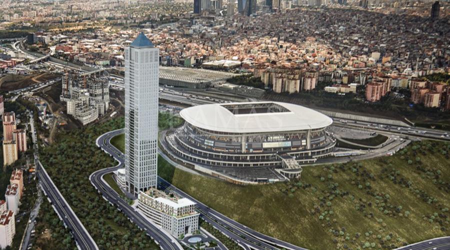 مجمع مجموعة داماس 156 في اسطنبول - صورة خارجية 06