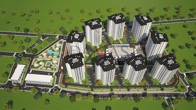 الاستثمار في طرابزون - مجمع مجموعة داماس 405 في طرابزون - صورة خارجية 06