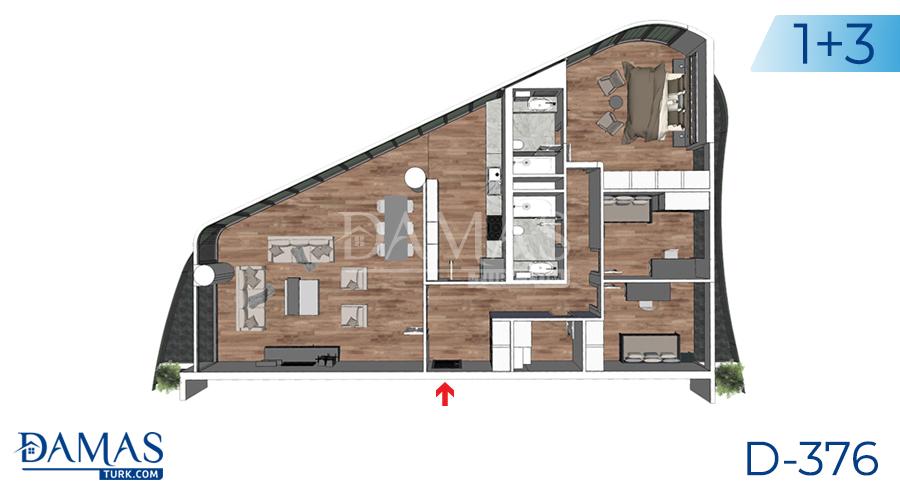 مجمع داماس 376 في يلوا - صورة مخطط 06