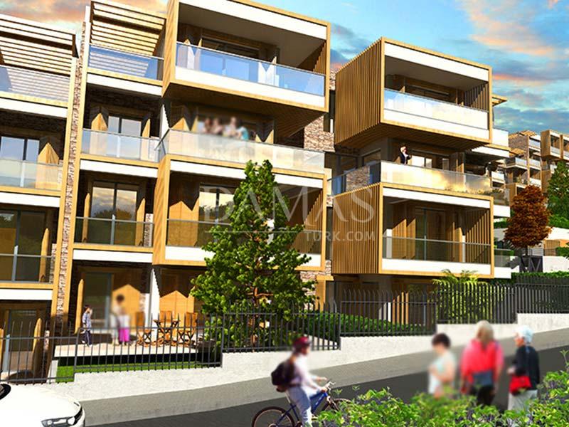 عقارات للبيع في بورصة - مجمع مجموعة داماس 203 في بورصة - صورة خارجية 07