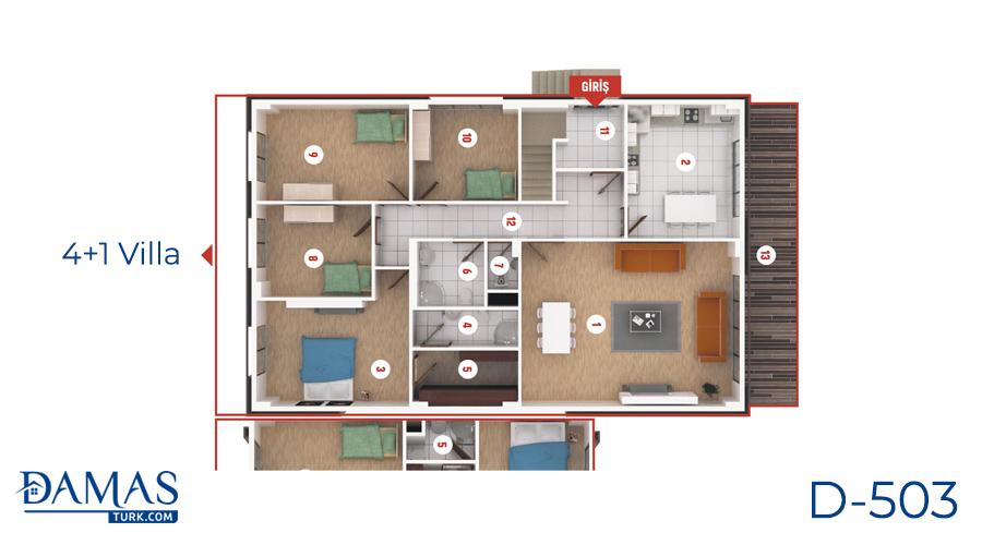 مجمع مجموعة داماس 503 في كوجلي - صورة مخطط 07