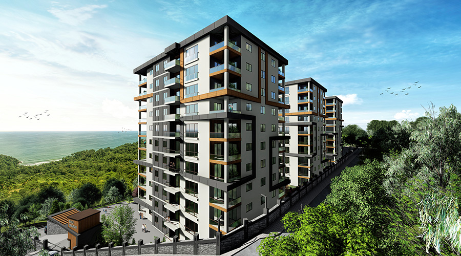 Damas Project D-410 in Trabzon - Exterior picture  07