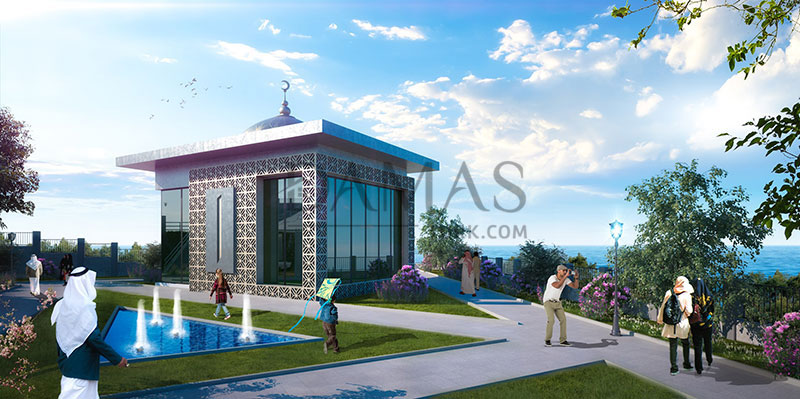 عقارات للبيع في طرابزون - مجمع مجموعة داماس 403 في طرابزون - صورة خارجية 08