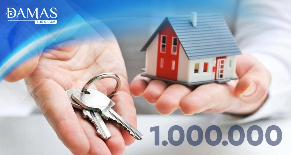 بيع أكثر من مليون شقة في تركيا خلال العام الجاري