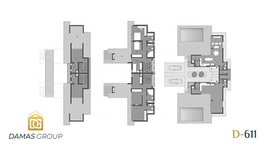 مجمع داماس 611 في انطاليا  - صورة مخطط 02