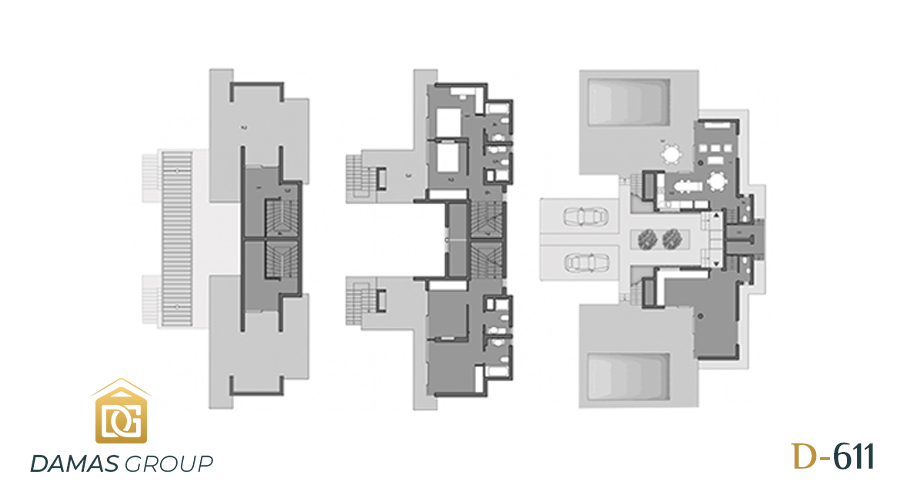 مجمع داماس 611 في انطاليا  - صورة مخطط 01