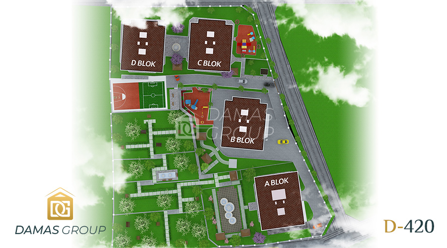 مجمع داماس 420 في طرابزون  - صورة  مخطط 02