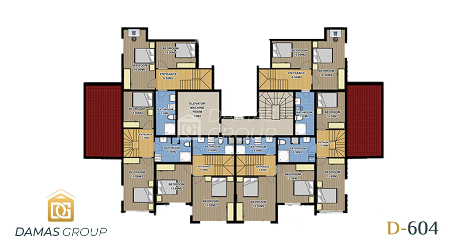 Damas Project D-604 in Antalys - Floor Plan 02