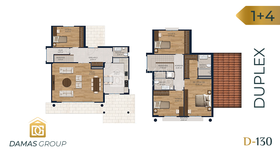 Damas Project D-130 in Istanbul - Floor Plan 03
