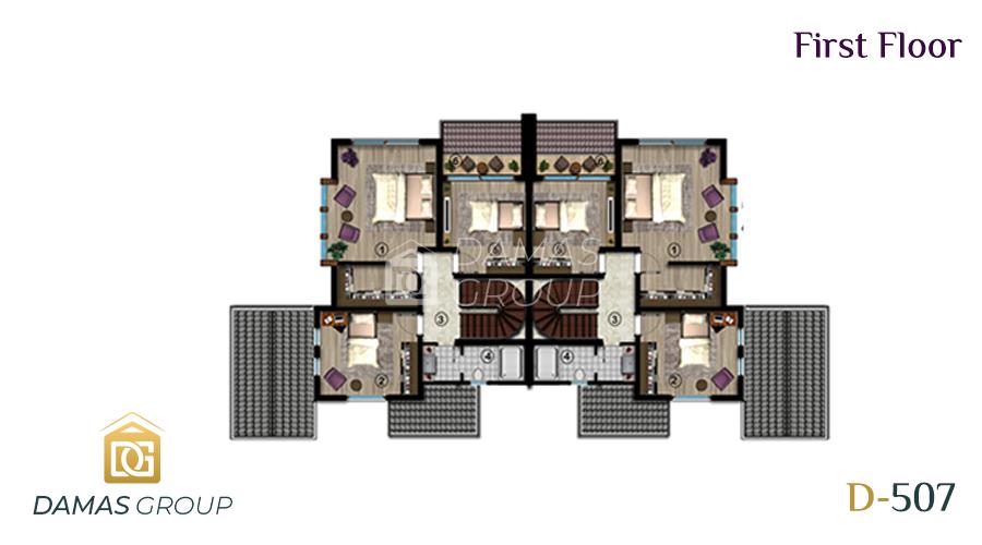 مجمع داماس 507 في كوجالي  - صورة مخطط 01