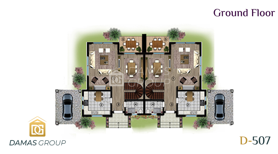 مجمع داماس 507 في كوجالي  - صورة مخطط 02