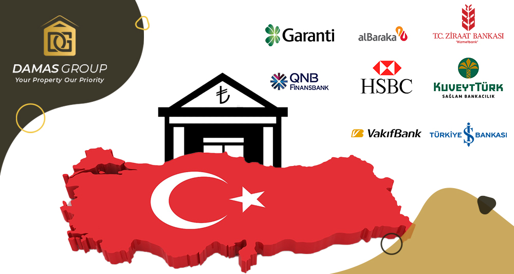 أهم البنوك في تركيا