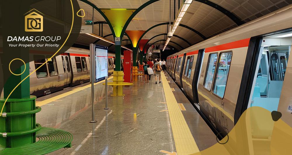 خط المترو الجديد M7 محمود بي – اسنيورت