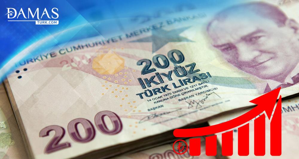 الليرة التركية تُسجل مستويات عالية منذ آب/أغسطس