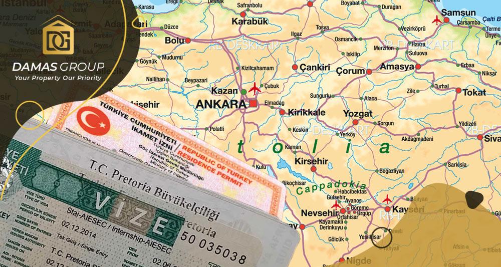 Visa, Residence Permit, and Turkish Citizenship