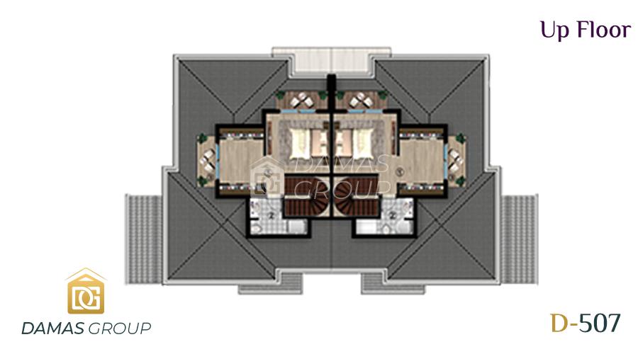 مجمع داماس 507 في كوجالي  - صورة مخطط 03